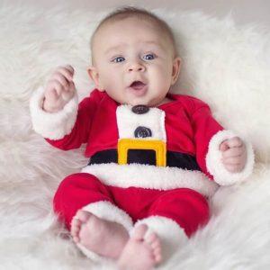 ชุดซานต้าครอสเด็ก