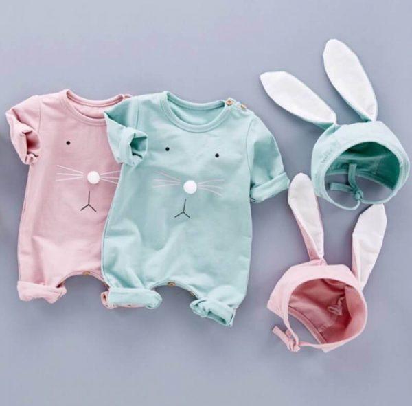 ชุดบอดี้สูทเด็ก แฟชั่นกระต่ายน้อยLittle Rabbit