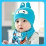 ผ้ากันเปื้อนน่ารัก หมวกเด็กน่ารัก หมวกเด็ก