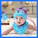 หมวกเด็ก หมวกเด็กน่ารัก ผ้ากันเปื้อนน่ารัก