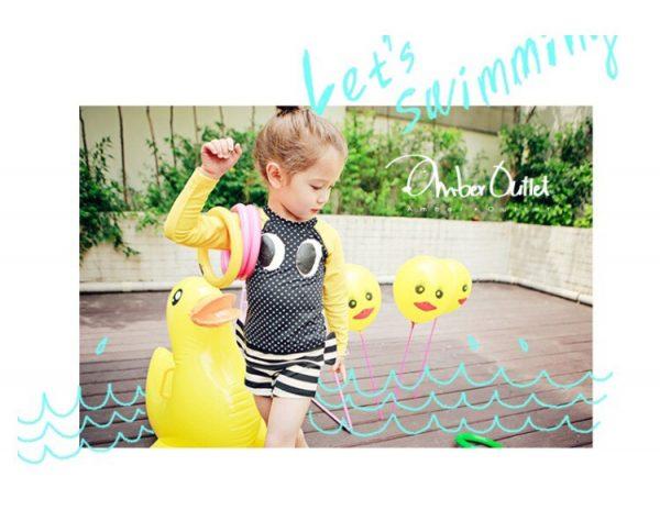 ชุดว่ายน้ำแขนยาว ชุดว่ายน้ำเด็ก