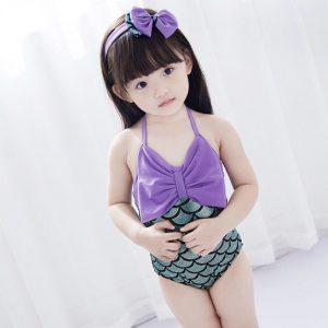 ชุดว่ายน้ำเด็กผู้หญิงน่ารัก