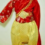 ชุดไทยเด็ก ชุดแม่หญิงการะเกด
