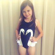 ชุดว่ายน้ำเด็กผู้หญิง