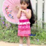 ชุดไทยเด็กเล็ก ชุดผ้าไทยเด็ก ชุดไทยอีสาน