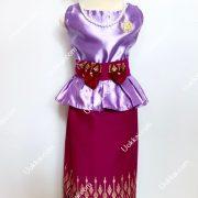 ชุดไทยภาคใต้ ชุดไทยเด็กหญิง ชุดสาวใต้ ร้านชุดไทยเด็ก ใส่ได้ทุกเทศกาล แบบชุดทันสมัยไม่ตกยุค สวมใส่สบาย สีสันสดใส งานตัดเย็บปราณีต