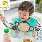ผ้ากันเปื้อนเด็กน่ารัก ผ้ากันเปื้อนเด็กแรกเกิด ผ้ากันเปื้อนเด็กกันนำ้ ผ้ากันเปื้อนกันน้ำ Lemonkid ลายน่ารัก น้ำหนักเบา ใส่สบาย