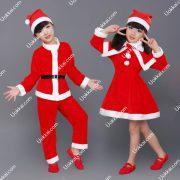 ชุดซานต้าคอสเด็ก ชุดซานต้าคอส ชุดsantaclaus แฟชั่นเด็กน่ารัก ชุดซานต้าคอสสำหรับเด็กเล็ก เด็กโต เด็กผู้หญิง และผู้ชาย เนื้อผ้ากำมะหยี่ เนื้อผ้าสวมใส่สบาย