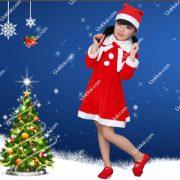 ชุดซานต้าคอสเด็ก