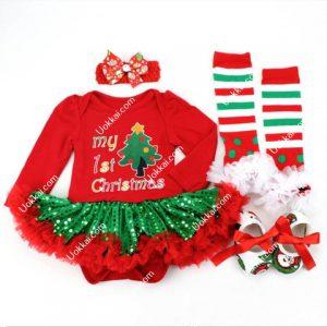 ชุดซานตาคอสเด็ก