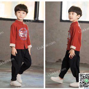 ชุดตรุษจีนเด็กชาย