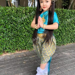 ชุดไทยสไบโจง