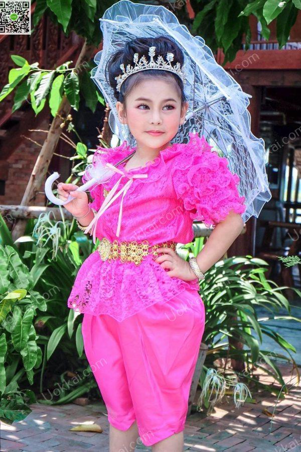 ชุดไทยลูกไม้