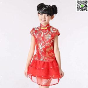 ชุดตรุษจีนเด็กหญิง